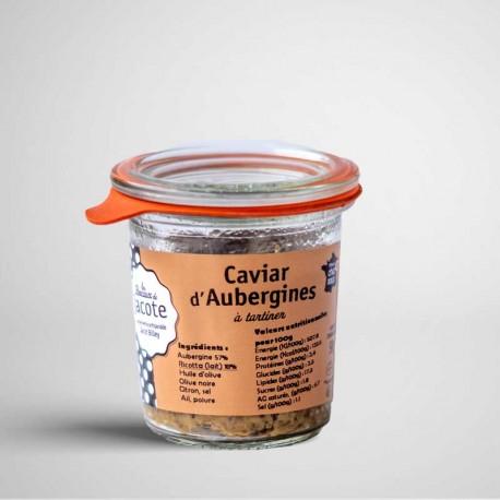 Caviar d'aubergines à tartiner
